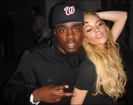 Wale and Lindsay Lohan