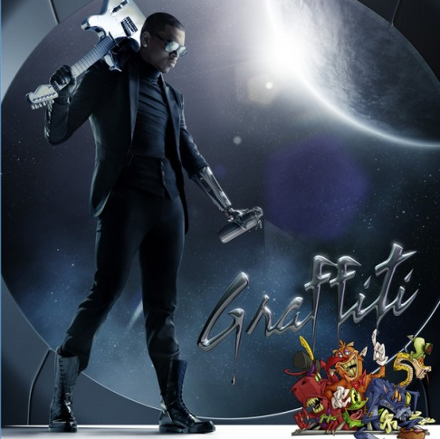 Chris Brown Grafitti Album cover